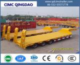 Asse Cimc 3 60 tonnellate di trasporto dell'escavatore di rimorchio basso della base