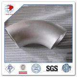 Elleboog 90 (Lr), Bw van het Roestvrij staal ASTM A403 Wp304, het Programma van 18 Duim 10s