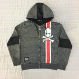 Ватка мальчика Промелькивает-вверх пальто Hoodies спорта в одеждах Sq-6448 малышей