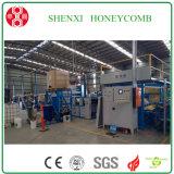Chaîne de production de papier d'âme en nid d'abeilles Hcm-1600