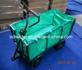 De Staal Ingeschakelde Kar van uitstekende kwaliteit van de Tuin (TC1804AH)