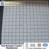 Циновка плитки мозаики прямоугольника глинозема 92%&95% керамическая износоустойчивая