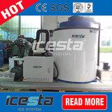 5000kg/Day de Machine van het Ijs van de Vlok van het Zoet water voor het Schip van Vissen