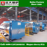 Wns 0.5-6 tonnellate della caldaia a vapore del gas di vapore del generatore di caldaia di gas a gas per lo stabilimento chimico