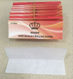 Papeles de balanceo de reyes Size Slim Cigarette con las filigranas