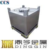 1000L tanque 1000L do Tote do aço inoxidável IBC para o armazenamento ou o transporte da gasolina