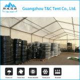 Tente de stockage en tôle d'aluminium solide de 12 m pour magasin