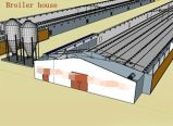 フルセットの肉焼き器の生産のための自動家禽装置