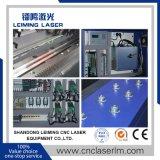 2000W Lm3015m3 plateado de metal y máquina del laser Cuttig de la fibra del tubo