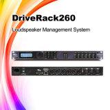 Processeur de son d'orateur de karaoke de Driverack 260 Digital