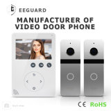 Intercom visuel de sonnette d'interphone de Doorphone de garantie à la maison de 4.3 pouces