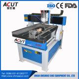 デスクトップCNCの彫版機械木製機械小型6090 4つの軸線木製CNCのルーター