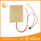 Kundenspezifische elektrische flexible Silikon-Gummi-Heizung für Auflage