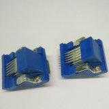 HD 이하 15의 Pin 여성 90 도 복각 연결관