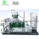 compressor de gás de trabalho elevado do diafragma da membrana de 32MPa Presssure