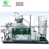 32MPa hoher ArbeitsPresssure Membranen-Membrangas-Kompressor
