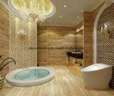 Mattonelle di pavimento di legno di ceramica calde del materiale da costruzione