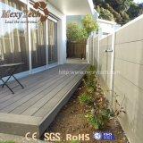 Sicherheitszaun des eindeutiger Entwurfs-haltbarer Aluminium-WPC für Garten