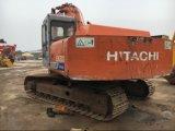 Máquina escavadora usada da esteira rolante de Hitachi Ex200-1 para a construção