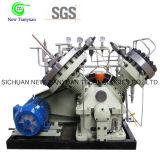 Compresor de alta presión corrosivo del diafragma del gas raro del gas