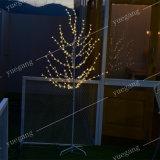 [1.2م] [وهيت بيرش] [لد] شجرة ضوء زخرفيّة خفيفة عطلة ضوء