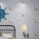 PVC 2017 Wallcovering, papier de mur de PVC, tissu de mur de PVC, papier peint de PVC