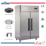 de doble puerta sólida Reach-en el congelador (1.0LG2)