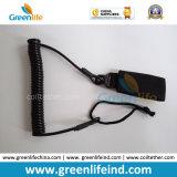 La lanière élastique de faisceau de fil fixent le pistolet relâchant le Velcro de courroie de W/Black