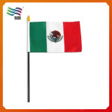 Großhandelshandkundenspezifische Land-Förderung-Handmarkierungsfahne (HYHF-AF063)