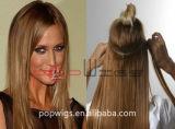 Cuticle pieno su Remy Hair Hair Weft Extension
