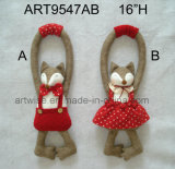 HOME bonito Decoration-2asst. do Doorknob do Fox do menino & da menina