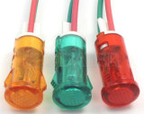 플라스틱 24V Wires Indicator Light (MDX-11AW)