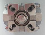 Robinet à tournant sphérique de flottement de Ss304/Ss316 3PC 1000wog avec la qualité