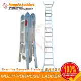Escada 4*4 de alumínio de múltiplos propósitos da Trabalhar-Plataforma
