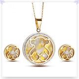 De Reeksen van de Juwelen van het Roestvrij staal van de Toebehoren van de Manier van de Juwelen van de manier (JS0215)