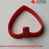 Heartproofのシリコーンの中心の形の焦げ付き防止のパンケーキオムレツのリング