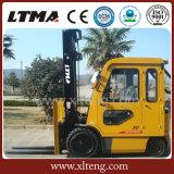 Ltma Batterie-elektrischer Gabelstapler 3 Tonnen-Aufzug-LKW mit Fahrerhaus