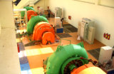ハイドロ(水)フランシス島のタービン・ジェネレーターLV/の水力電気のタービン/Hydroturbine