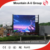 P10 esterno Full Color Video LED Screen per Advertizing