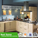 Moderne Rundküchenschränke europäische Art-Hochglanz-Küche-Kabinett