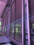Indicador de diodo emissor de luz transparente ao ar livre do vidro de P5 Idoor
