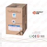 Câble approuvé de transmission d'UL/CE/RoHS/ISO UTP Lszh Cm/Cmr Cat5e