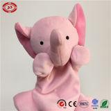 분홍색 코끼리 긴 트렁크 빈 바디 귀여운 아기 꼭두각시