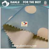 Kurbelgehäuse-Belüftung 190t beschichtete Polyester-Taft-PUNKT gedrucktes Gewebe für Duschvorhang