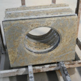 BathroomのためのカシミールGold Granite Vanity Top