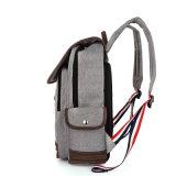 Мешок Backpack компьтер-книжки холстины высокого качества для людей & подросткового портативного мешка холстины