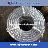 Feiner Draht flocht transparente/freie PVC-Stahldraht-Spirale verstärkter Schlauch