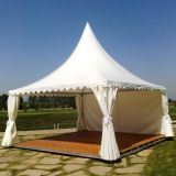 Het Materiaal van Pool van het aluminium en Tent van de Tuin Gazebo van het Type van Paraplu de Openlucht
