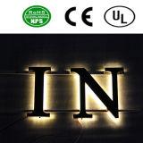 새로운 Dsesign LED 뒤 Lit 채널 편지 표시
