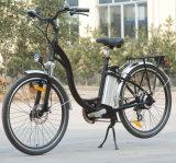 E-Bike города 180W-250W с батареей Li-иона (TDE-001)